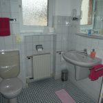 Einzelzimmer groß Bad